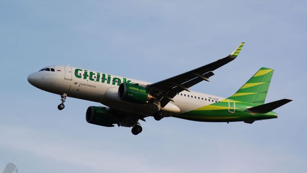 Citilink Indonesia Airbus A320-251N; Near CGK 2018 - Sputnik International