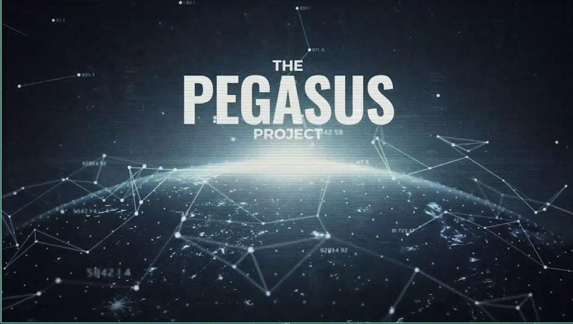 The Pegasus Project - Sputnik International, 1920, 01.08.2021