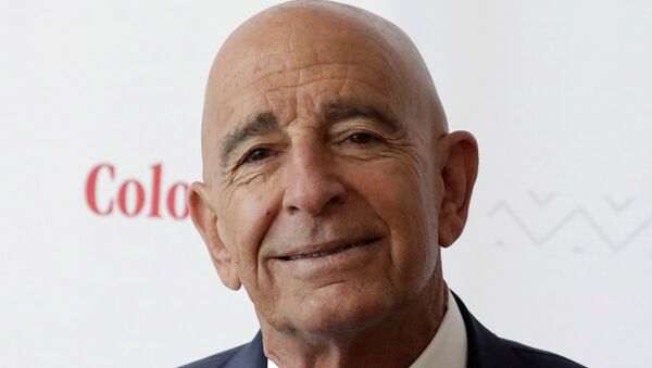 FILE PHOTO: Billionaire real estate investor Thomas Barrack, Chief Executive Officer of Colony Capital, holds a meeting with the media to discuss investment plans in Mexico and Latin America, in Mexico City, Mexico May 22, 2019. - Sputnik International