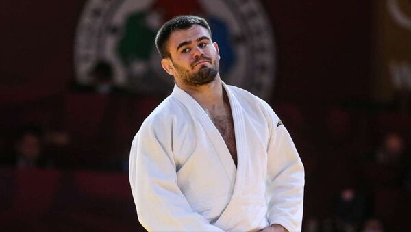 Algerian Judo fighter Fethi Nourine - Sputnik International