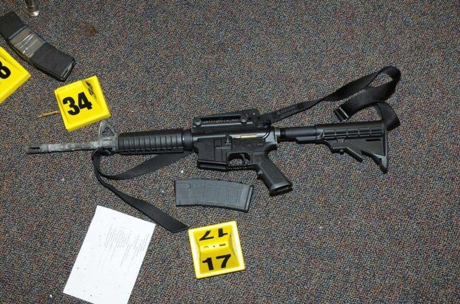 Remington Bushmaster XM15-E2S used in Sandy Hook shootings - Sputnik International, 1920, 07.09.2021