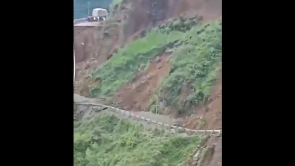landslide in India - Sputnik International