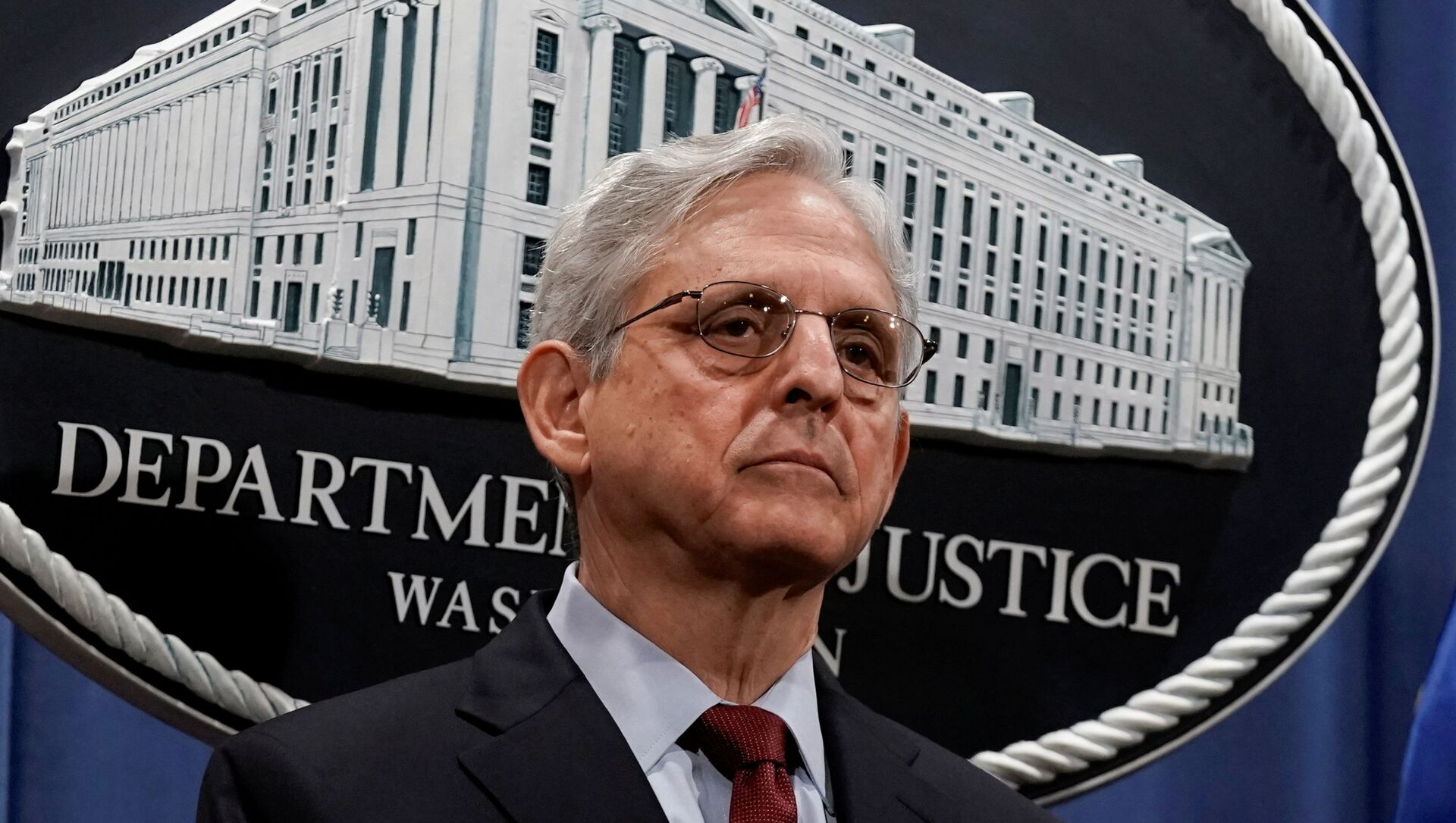 U.S. Attorney General Merrick Garland announces that the Justice Department will file a lawsuit challenging a Georgia election law, in Washington - Sputnik International, 1920, 30.07.2021