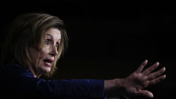 Speaker of the House Nancy Pelosi (D-CA) speaks during a news conference on Capitol Hill July 30, 2021 in Washington, DC. Pelosi and House Democratic leadership held the news conference to highlight their legislative agenda.  - Sputnik International