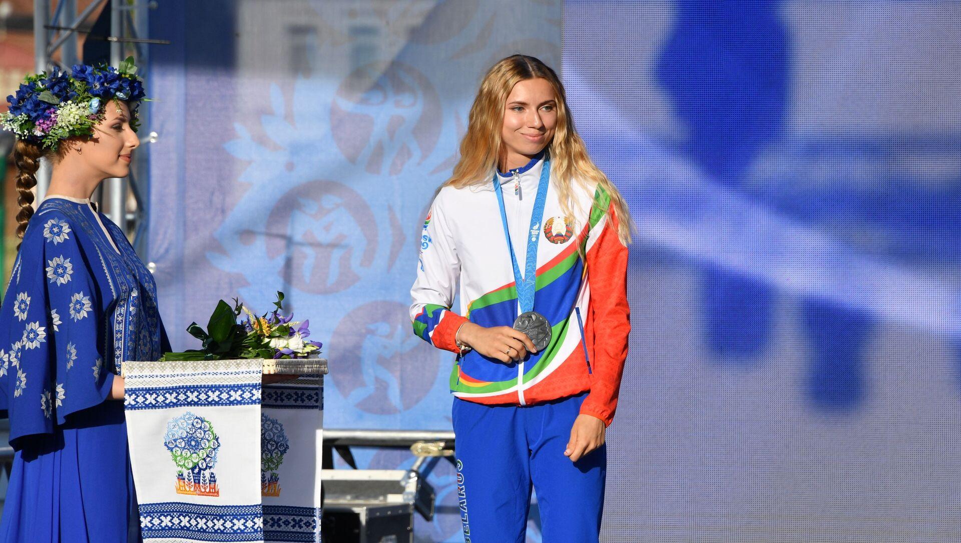 Award ceremony of Belarus athlets at II European Games - Sputnik International, 1920, 02.08.2021