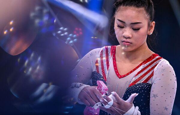 American artistic gymnast Sunisa Lee. - Sputnik International