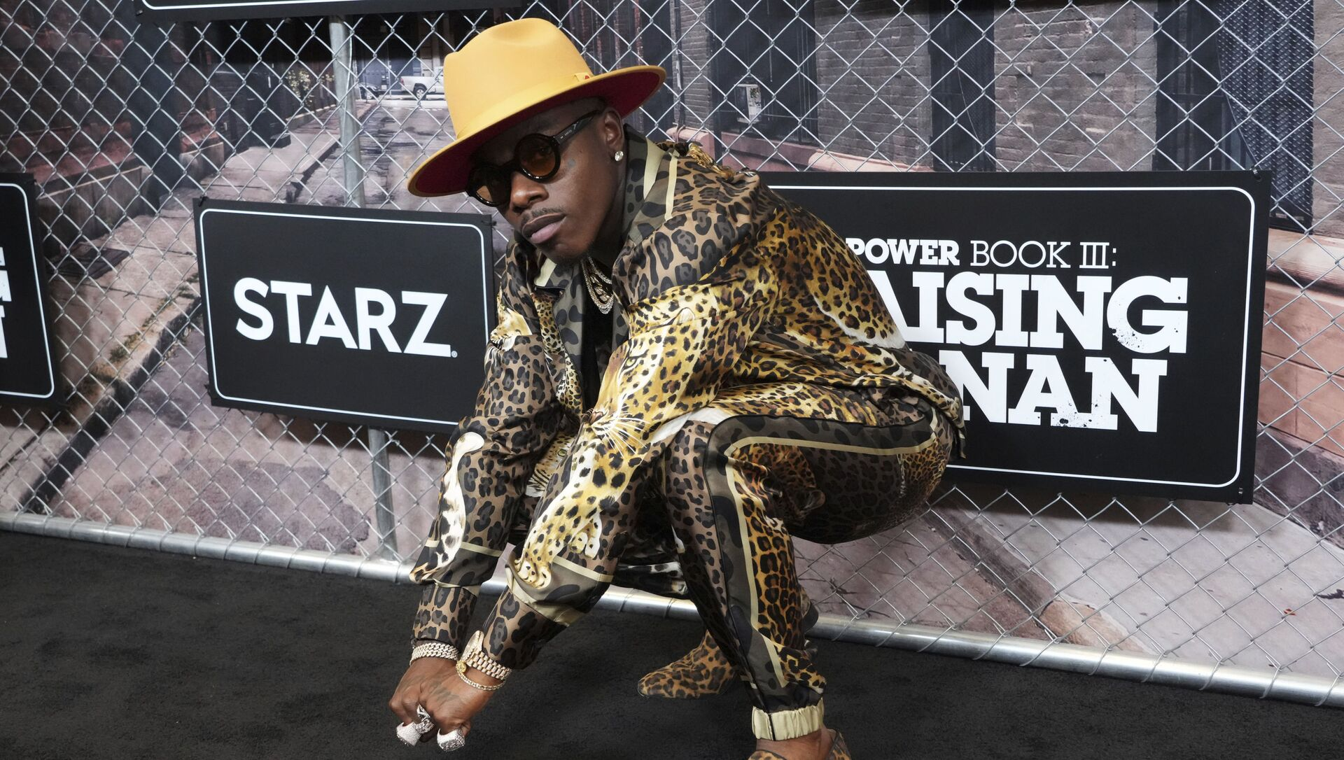 FILE - DaBaby attends the world premiere of Power Book III: Raising Kanan at the Hammerstein Ballroom on Thursday, July 15, 2021, in New York. DaBaby was cut Sunday, Aug. 1, 2021 from Lollapalooza's closing lineup following crude and homophobic remarks he made last week at a Miami-area music festival. - Sputnik International, 1920, 03.08.2021
