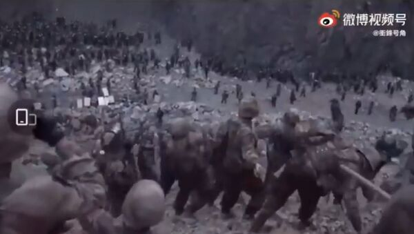 Video of Galwan valley clash between Indian and Chinese toops released by Indian and Chinese media - Sputnik International
