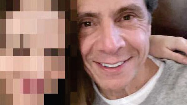 Andrew Cuomo pictured with Executive Assistant #1 - Sputnik International