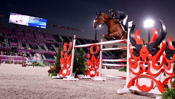 Tokyo 2020 Olympics - Equestrian - Jumping - Individual - Final - Equestrian Park - Tokyo, Japan - 4 August 2021 - Sputnik International