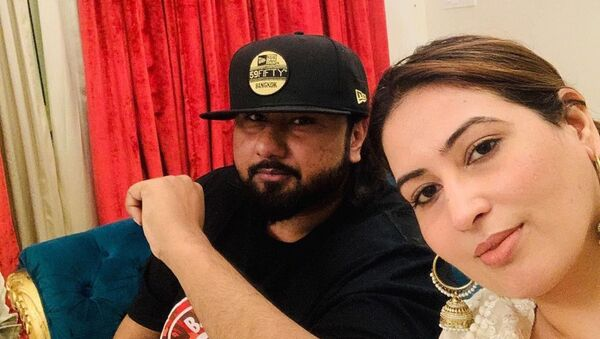 Rapper Yo Yo Honey Singh's Wife Accuses Him of Domestic Violence - Sputnik International