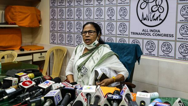 Chief Minister of West Bengal state and Trinamool Congress party leader Mamata Banerjee - Sputnik International