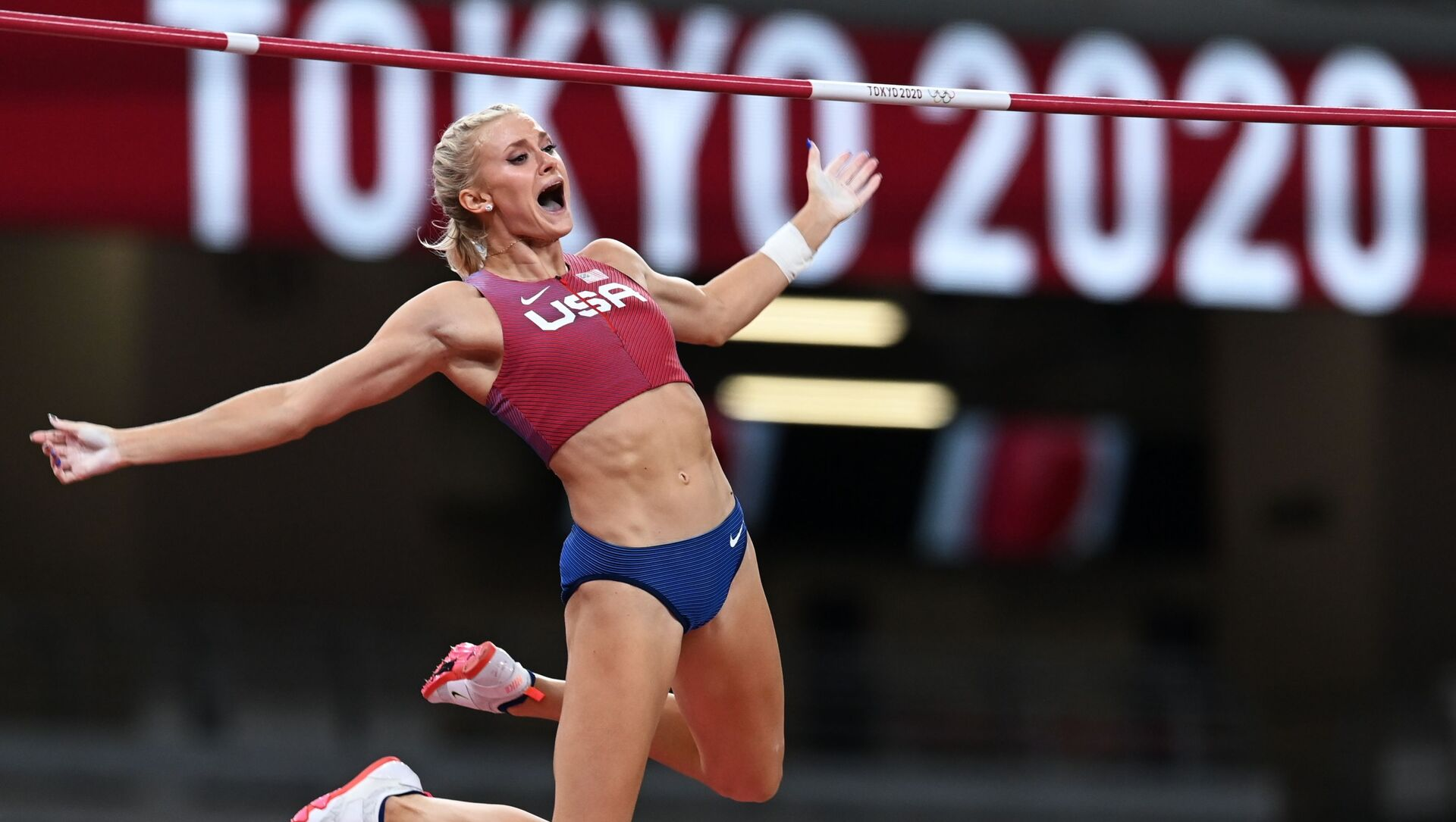 US' Katie Nageotte Wins Women's Pole Vault Gold at Tokyo Olympics - Sputnik International, 1920, 05.08.2021