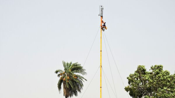 Nishan Sahib, Sikh religious flag hoisted outside the Gurdwaras - Sputnik International