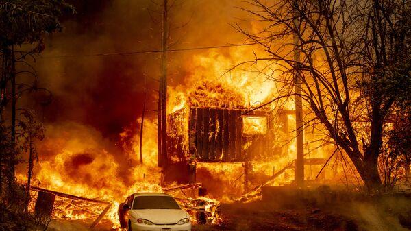 Apocalypse Now: California Suffers From Disastrous Wildfires - Sputnik International