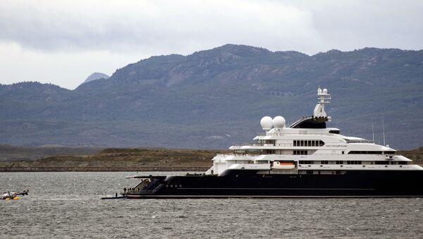 the Octopus yacht, owned by Microsoft's co-founder Paul Allen - Sputnik International