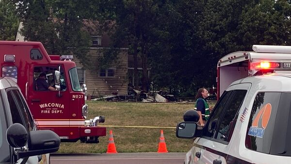 A Mooney M20 single-engine plane has crashed into an unoccupied house in the city of Victoria, Minnesota, leaving several people dead, media reported on August 7, 2021 - Sputnik International