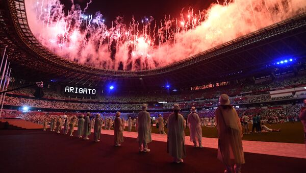 Sayonara, Tokyo: Emotional Closing Ceremony of 2020 Summer Olympics - Sputnik International