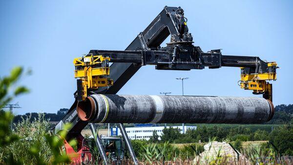 Mukran Port - Nord Stream 2 Logistics Centre - Sputnik International