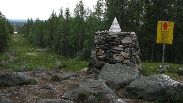 Tripoint of Russia-Norway-Finland borders - Sputnik International