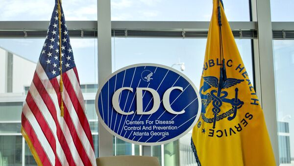 This Nov. 19, 2013 file photo shows a Centers for Disease Control and Prevention logo at the agency's federal headquarters in Atlanta. - Sputnik International