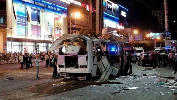 Russia Bus Explosion - Sputnik International