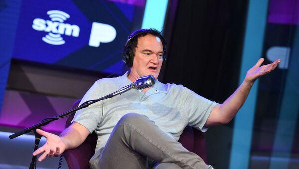 Quentin Tarantino visits The SiriusXM Hollywood Studios in Los Angeles on June 30, 2021 in Los Angeles, California. - Sputnik International