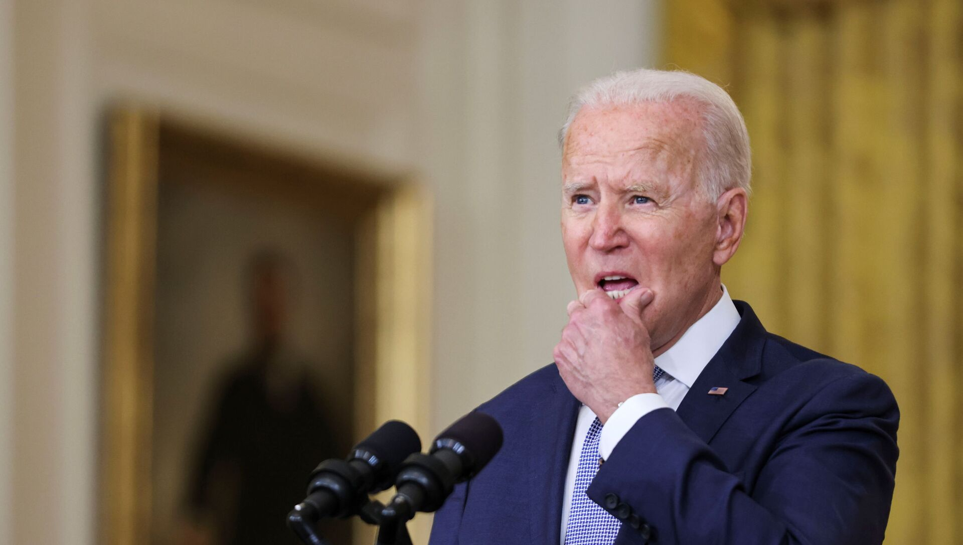 U.S. President Biden discusses administration efforts to lower drug prices in a speech at the White House in Washington - Sputnik International, 1920, 15.08.2021