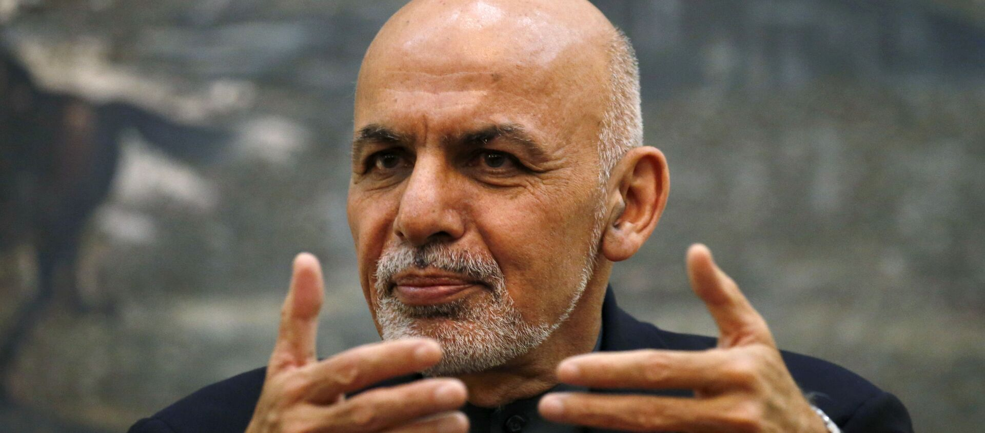 FILE PHOTO: Afghanistan's President Ashraf Ghani speaks during a news conference in Kabul, Afghanistan December 7, 2015. Ghani confirmed on Monday that he would travel to Pakistan for a regional conference on Afghanistan, in a sign of fresh efforts to reduce tension between the two neighbouring countries.  REUTERS/Stringer/File Photo - Sputnik International, 1920