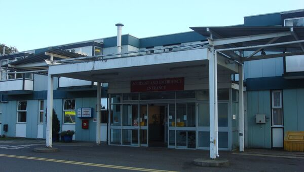 The entrance to Accident and Emergency at West Suffolk Hospital, UK, in 2010 - Sputnik International