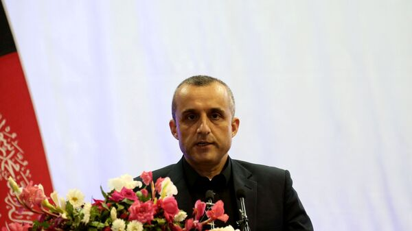 AmFILE PHOTO: Amrullah Saleh first vice-presidential candidate of Ashraf Ghani speaks during the presidential election campaign in Kabul,  Afghanistan, 13 September 2019. REUTERS/Omar Sobhani/File Photo - Sputnik International