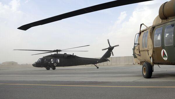 Американский вертолет UH-60 Black Hawk в Афганистане. Архивное фото - Sputnik International