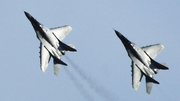 MiG-29 fighters during the Kavkaz-2020 command and staff exercise in the Astrakhan region. - Sputnik International
