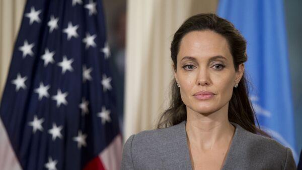 United Nations High Commissioner for Refugees Special Envoy Angelina Jolie  - Sputnik International