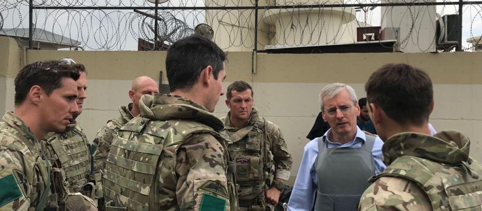 HMG staff facilitate UK evacuation effort in Kabul - Sputnik International, 1920, 22.08.2021