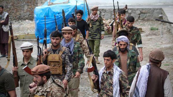 Men prepare for defense against the Taliban in Panjshir, Afghanistan - Sputnik International