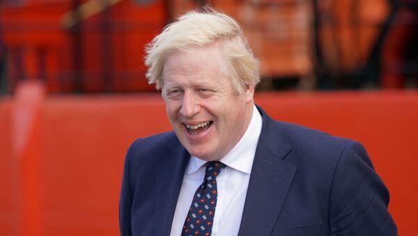 Britain's PM Johnson visits Scotland - Sputnik International