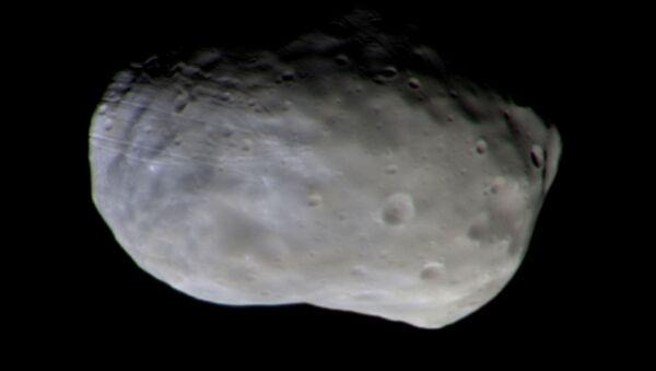 ExoMars first colour image of Phobos - Sputnik International
