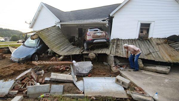 Swept Away Houses, Destroyed Cars, Dozens of Dead: Tennessee Hit by Flash Floods  - Sputnik International