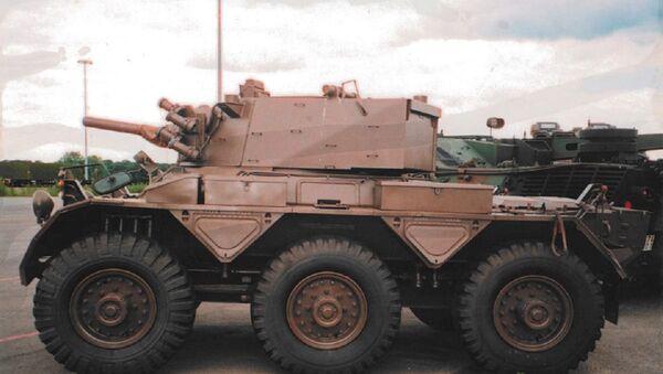 Saladin armoured car with 76mm gun - Sputnik International