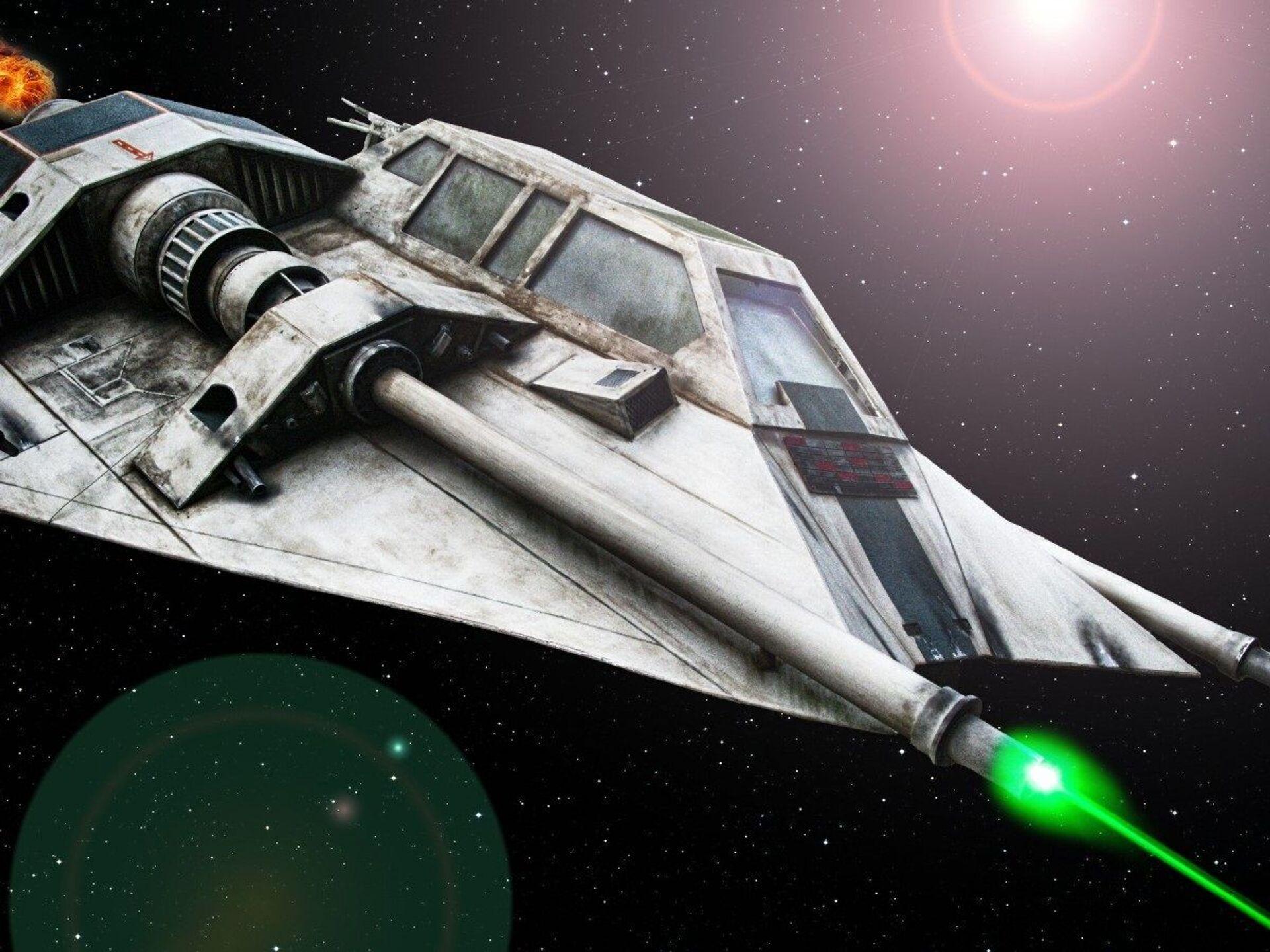 Space ship laser - Sputnik International, 1920, 07.09.2021