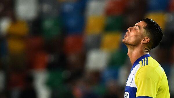 Juventus' Cristiano Ronaldo after the game - Sputnik International