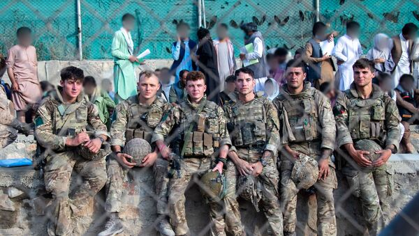 British Armed Forces take part in Kabul airport evacuation - Sputnik International