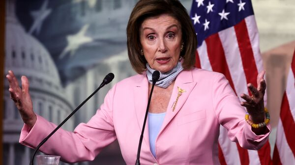 U.S. House Speaker Pelosi holds a news conference at the U.S. Capitol in Washington - Sputnik International