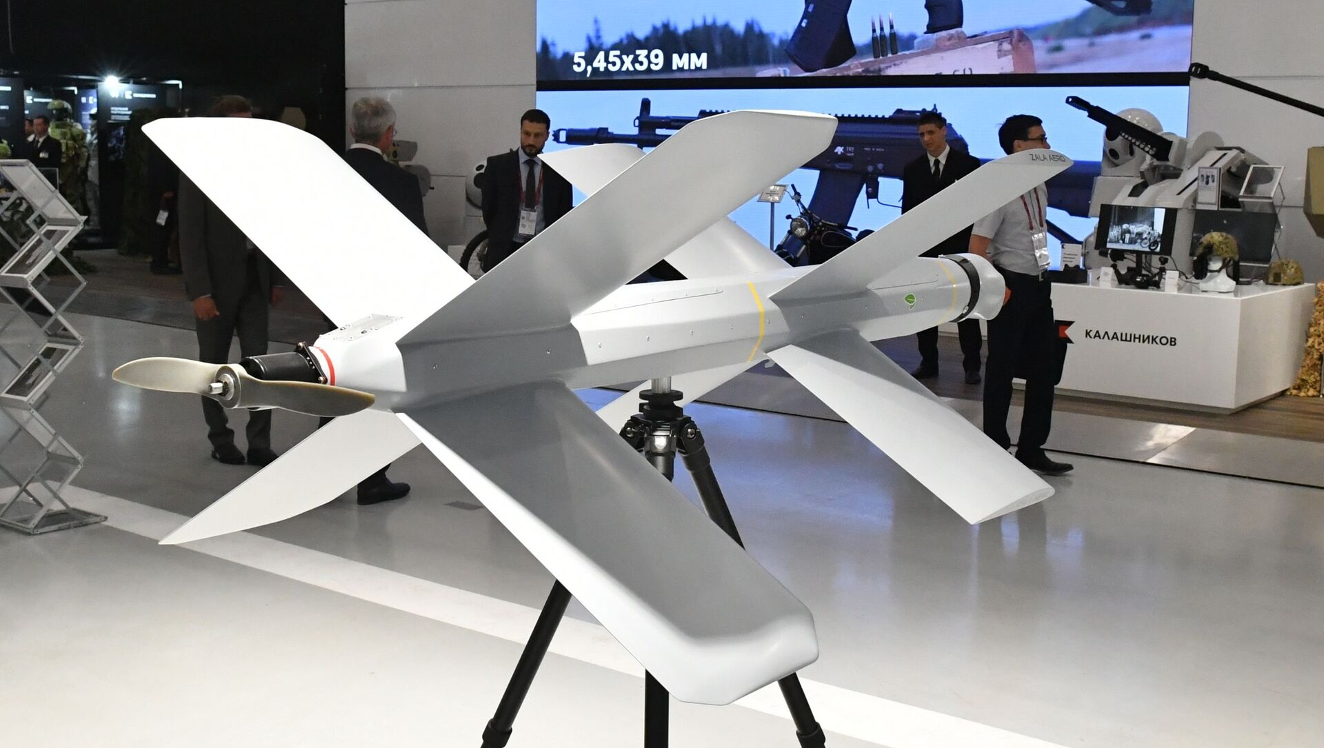 An unmanned aerial vehicle is displayed at the ARMY 2019 International Military and Technical Forum, in Kubinka, Moscow region, Russia - Sputnik International, 1920, 27.08.2021