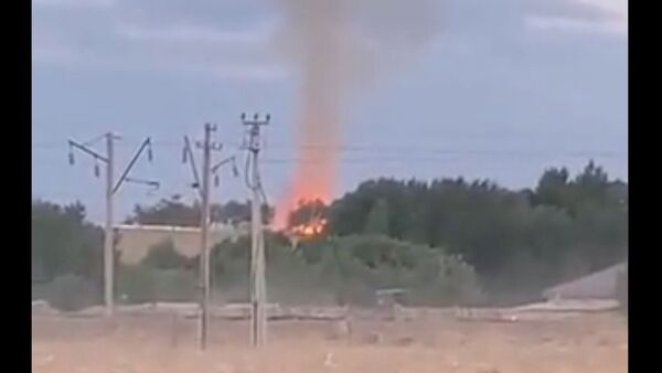 Blast at a warehouse in Kazakhstan, 26 August 2021 - Sputnik International
