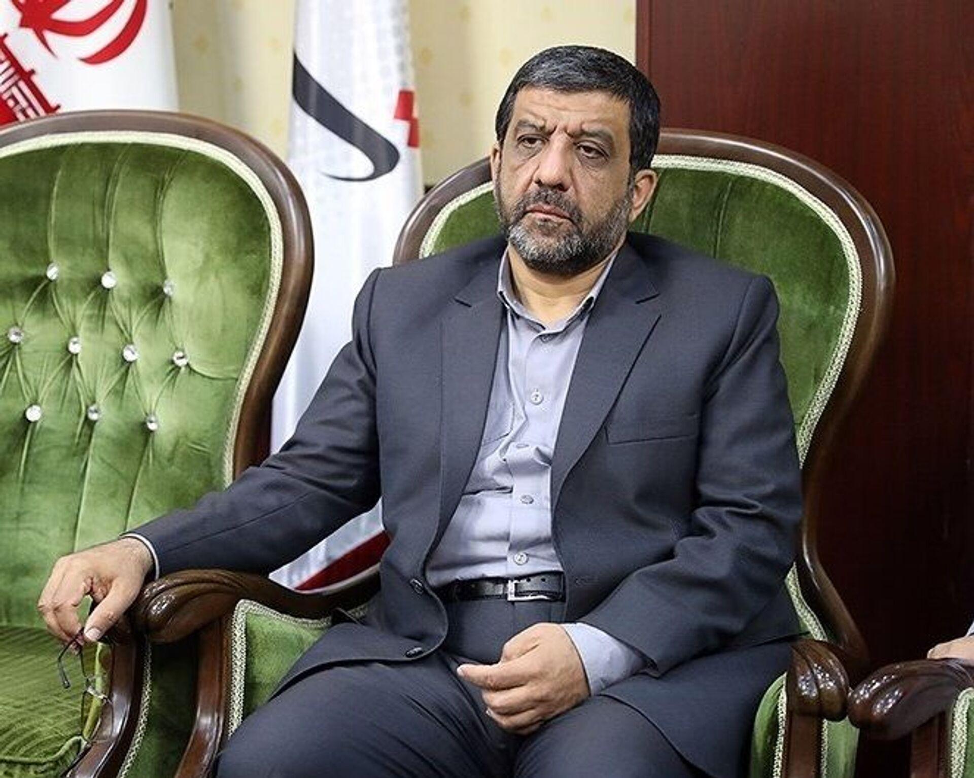 Ezzatollah Zarghami, Iranian Minister of Cultural Heritage, Tourism and Handicrafts - Sputnik International, 1920, 07.09.2021