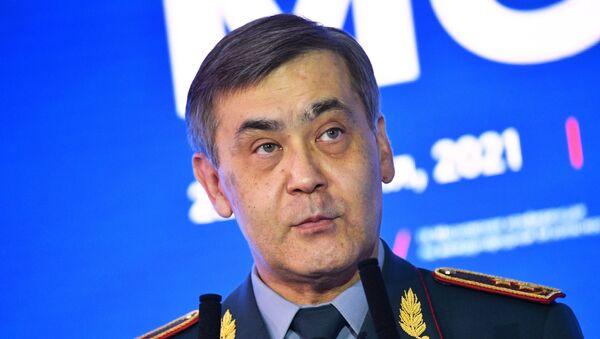 Minister of Defense of Kazakhstan Nurlan Yermekbayev at IX Moscow Conference on International Security, held 22–24 June, 2021 - Sputnik International