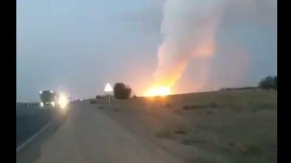 Blast at ammunition depot in Kazakhstan, 26 August 2021 - Sputnik International