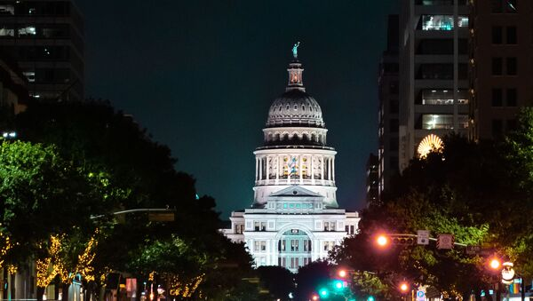 Texas State Capitol Building in Austin, Texas - Sputnik International